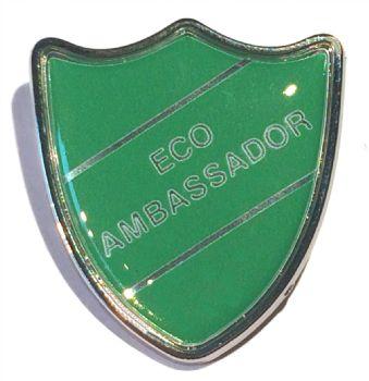 ECO AMBASSADOR shield badge